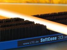 Bei den Softcone handelt es sich um leitfähige Polymer-Kegel auf Dämpferbasis, die dreidimensional verdrängungsfreundlich sind, egal ob punktuell oder flächig. LTC Dienstleistungen