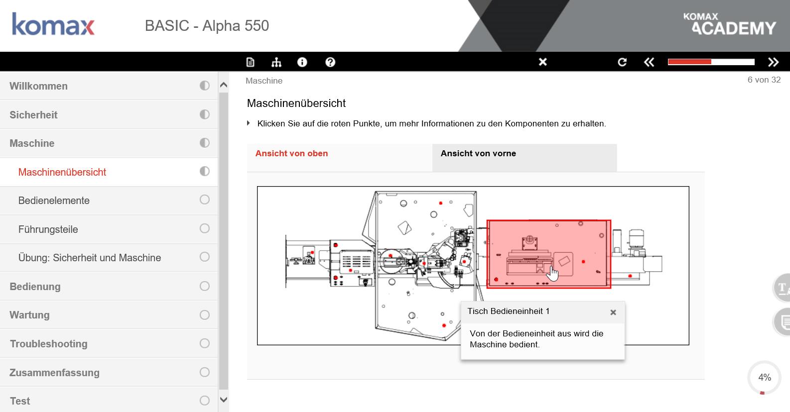 Komax_On.Line_Training_Alpha-550
