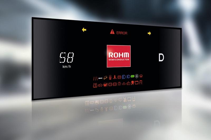 Anzeige des Kombi-Instruments im reduzierten Modus ohne Hintergrundvideo.
