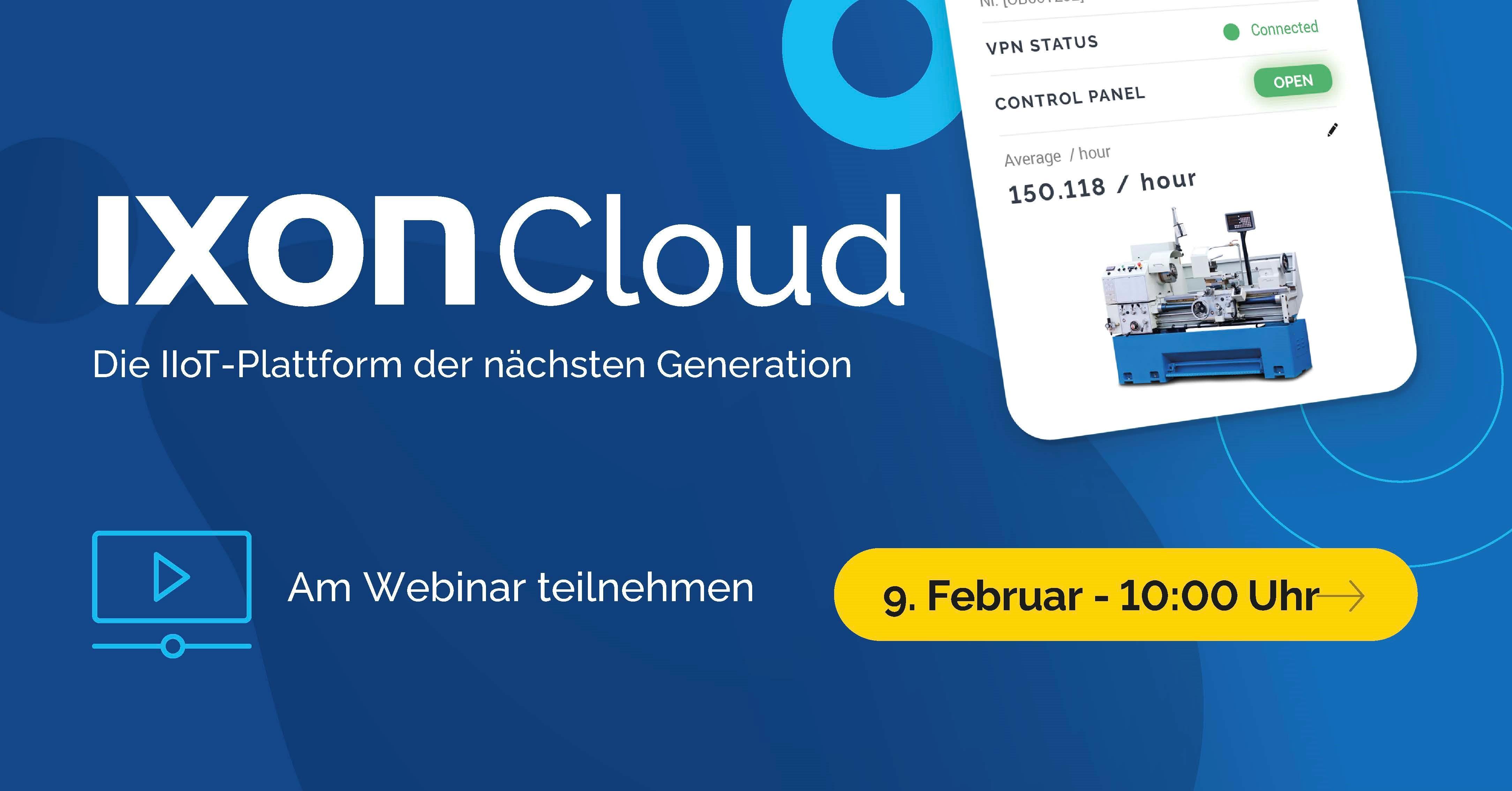 Ixon Webinar
